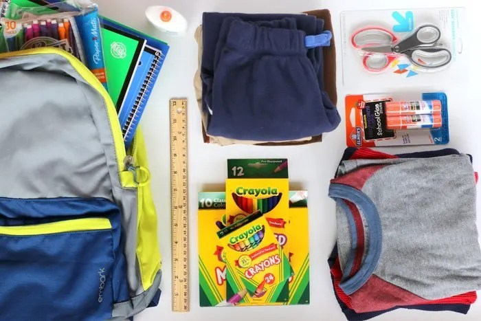 FashionablyEmployed.com | Ideas to use back to school shopping as an opportunity to teach kids about social responsibility.