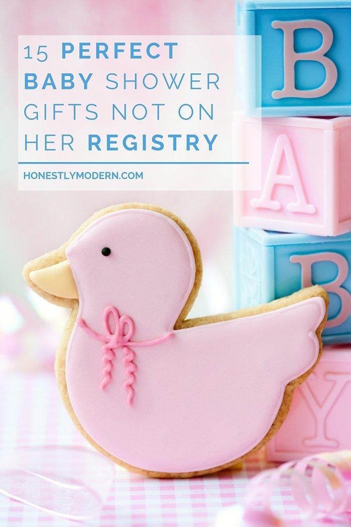 Not sure what to get for the new mom in your life? Check out these 15 Perfect Baby Shower Gifts Not On Her Registry | Tested and approved by a mom of two young boys, they're sure to please. Check out the whole list!