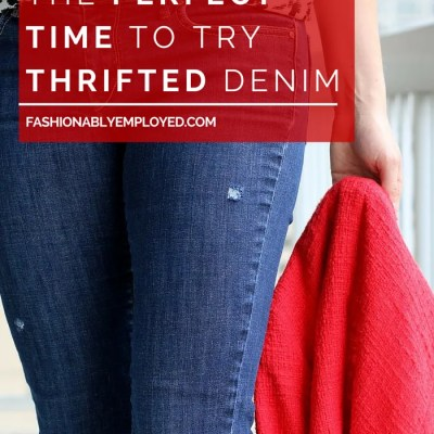 Why Now Is The Perfect Time to Thrift Denim