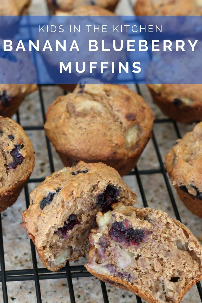 FashionablyEmployed.com   Whole Wheat Banana Blueberry Muffins prepared with my boys   Working mom life and style blog for moms long on ambition and short on time juggling career, family, style and self.