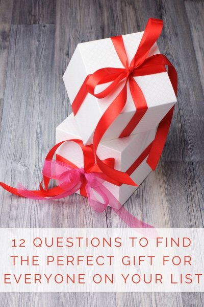 FashionablyEmployed.com | 12 Questions to Find the Perfect Gift For Everyone On Your List