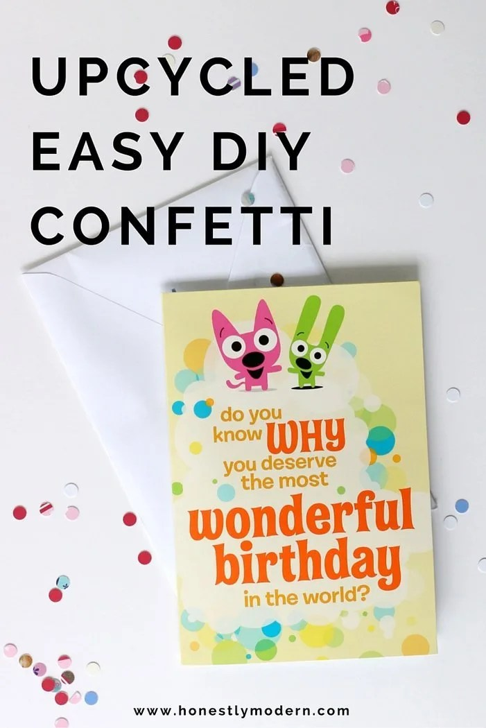 Want to add a personal touch to make a greeting card even more special. Throw in some DIY confetti and a little music to make it memorable. Click through for super simple instructions to make your special occasion cards even more amazing!