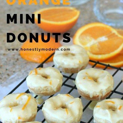 Sparkling Eyes Meet Sparkling Drinks & Double Orange Donuts