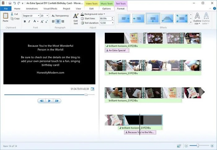 How To Create Easy Video Montages For Your Family