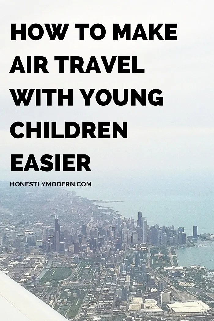 Headed to the airport with young children? Check out this list of tons of tips for traveling with young kids from a mom of two young boys who regularly travels with the children by herself. Lots of great tips to try, so click through to check them out!