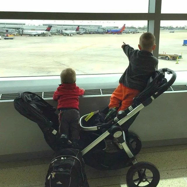How To Make Air Travel With Young Children Easier