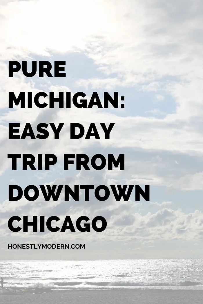 A day trip itinerary for any family to find a quiet reprieve from the hustle and bustle of Chicago in serene Michigan. Click through for more details!