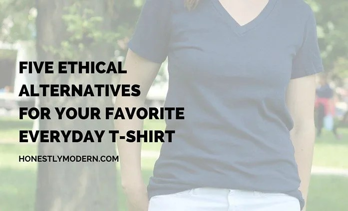 Killer casual style from ethical brands | Perfect, high-quality, socially responsible brands that will become your new favorite t-shirt staples. Check out these 5!
