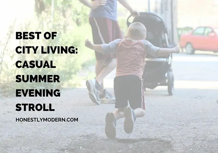 Wondering what family life living in the city is like? Here's one thing every family loves about urban living!