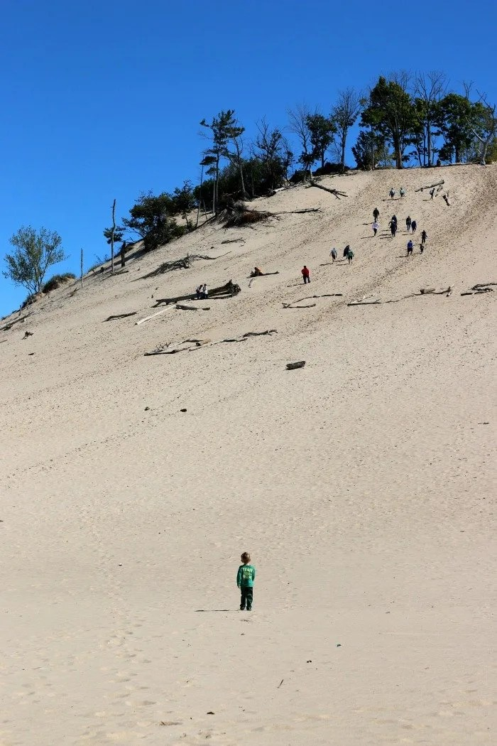 Warren Dunes Climbing Up