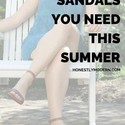 The Only Sandals You Need This Summer