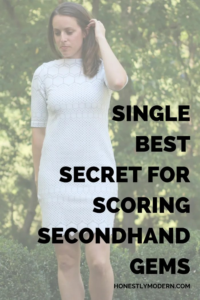 Want to know the single best secret for shopping secondhand? You might just have the answer so read on!