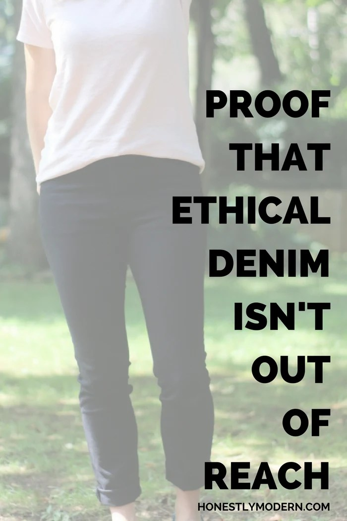Ethical, Made in the USA denim doesn't have to be expensive. Check out this brand that's nailed price without sacrificing quality.