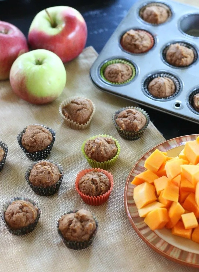 For a quick and healthy breakfast solution for your family, try these apple & butternut squash muffins. Not too sweet and made with limited sugar, they're a great option for fall (or any time of year, really). Click through for the recipe.