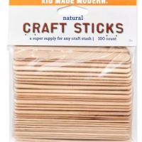 Kid Made Modern 100ct Craft Sticks