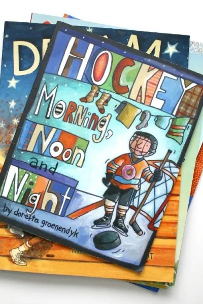 Ultimate List of Hockey Books for Kids