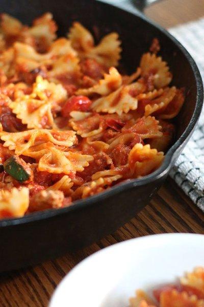 Using Up Veggies In A Pasta Dish | Zero Food Waste Recipe