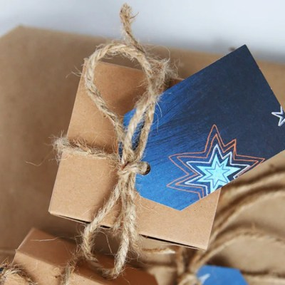 How To Repurpose Greeting Cards As DIY Gift Tags