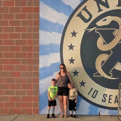Our First Philadelphia Union Soccer Game