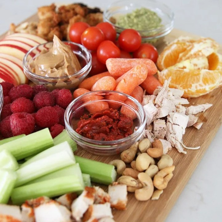 How To Create a Zero Waste Lunch Leftover Charcuterie Board