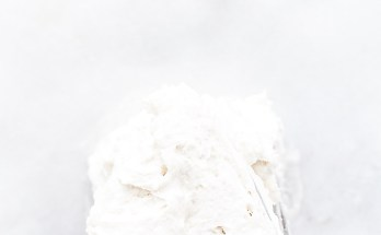 Basics: How To Make Coconut Whipped Cream | A simple vegan, paleo, refined-sugar free whipped cream using canned coconut milk. The perfect healthy non-dairy topping for desserts, hot chocolate, and more! | Honestly Nourished | www.honestlynourished.com