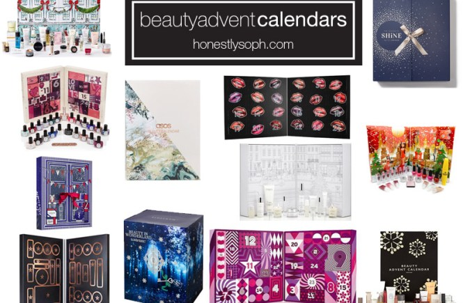 beauty advent calendard 2017