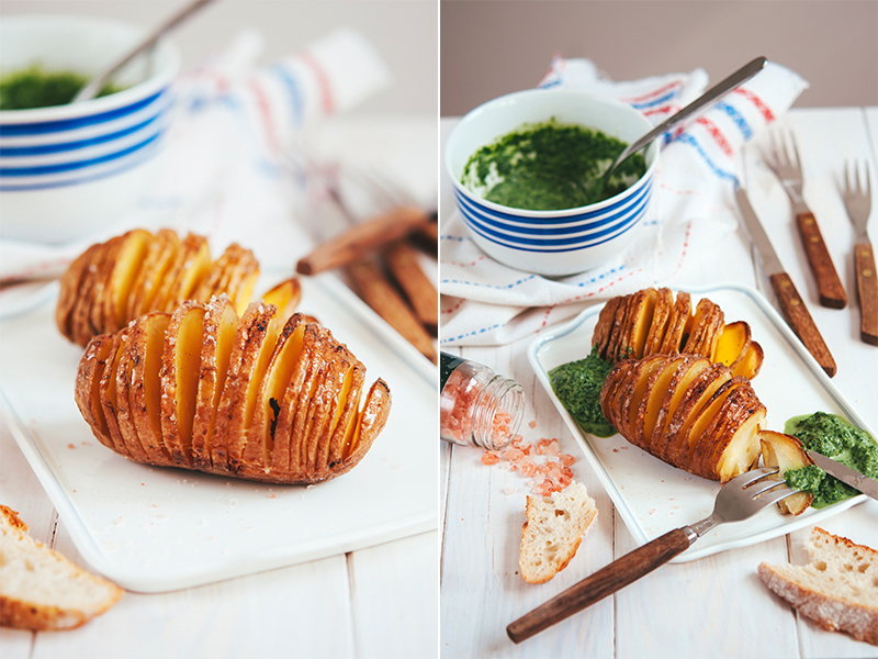 hasselback-potatoes