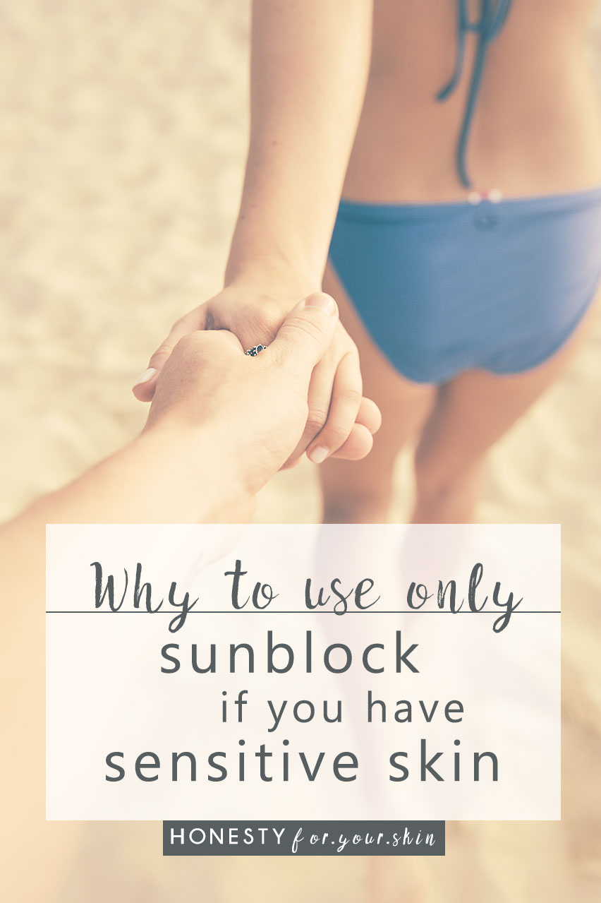 Choosing skincare products perfect for sensitive skin can be a nightmare! This is why sensitive skin sufferers should use sunblock and not sunscreen. Sunblock is the best sun protection for sensitive skin... this is why... http://wp.me/p6LuQS-11n