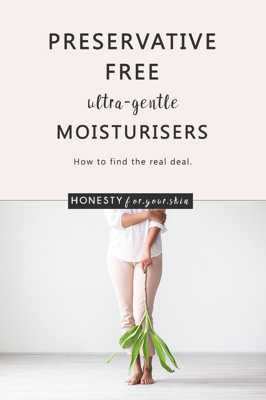 Preservative Free Moisturisers How To Find The Real Deal Best Breeding 40ml Are A Great Catch For Sensitive Skin Theyre Also