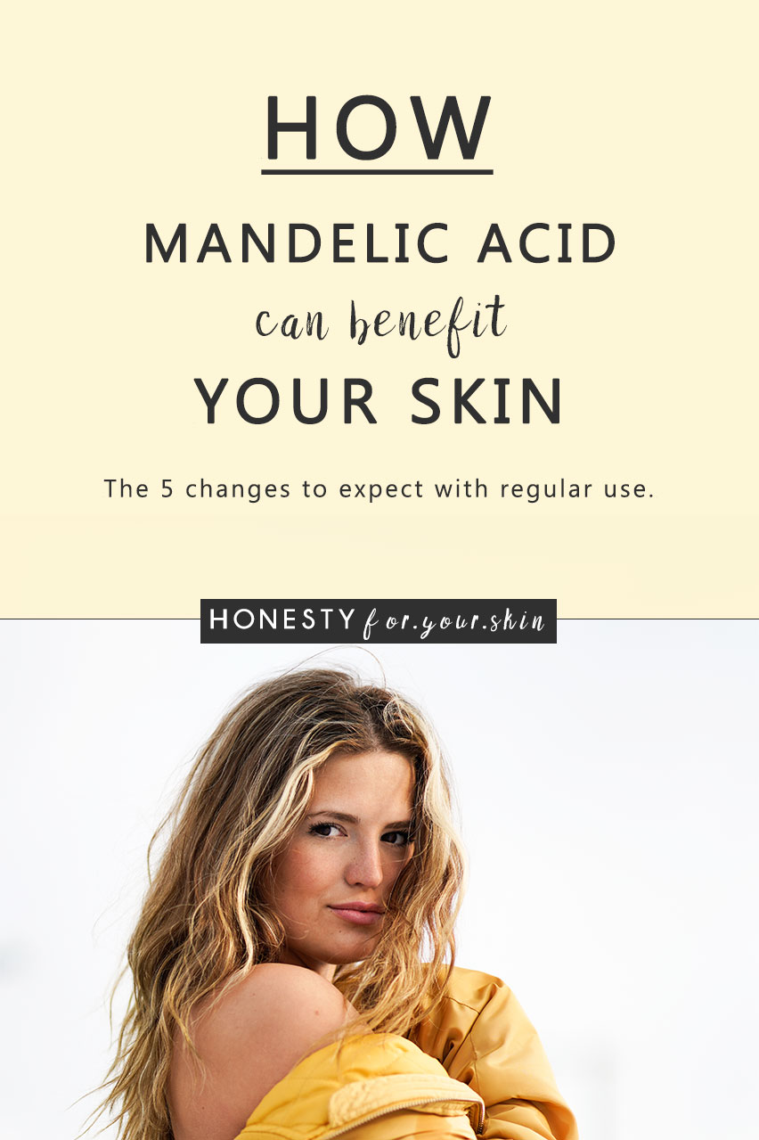 Today dear skin savvy, we're exposing mandelic acid for all the benefits it can bring your skin. Read on to find out if mandelic acid could be the all-star your skin needs now.