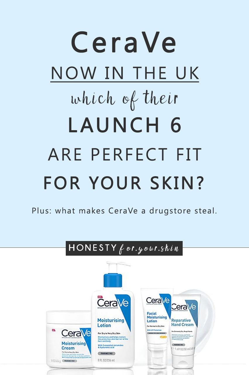 Dear friend did you hear? Cult fragrance free skincare brand CeraVe just launched in the UK this March 2018. While CeraVe have an impressive skincare range of over 70 products for you skin savvies in the US, Cerave UK is just getting starting.