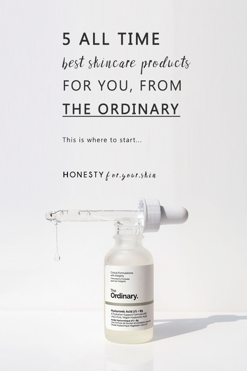 While there are a heap of The Ordinary products which are designed for an extremely specific skin concern/skin type, there are also a small host of best The Ordinary skincare products which will love almost anyone's skin. That are potent and sensitive. They work wonders without side effects. If you are bamboozled by The Ordinary skincare - this list of 5 best The Ordinary products will give you the perfect starting block.