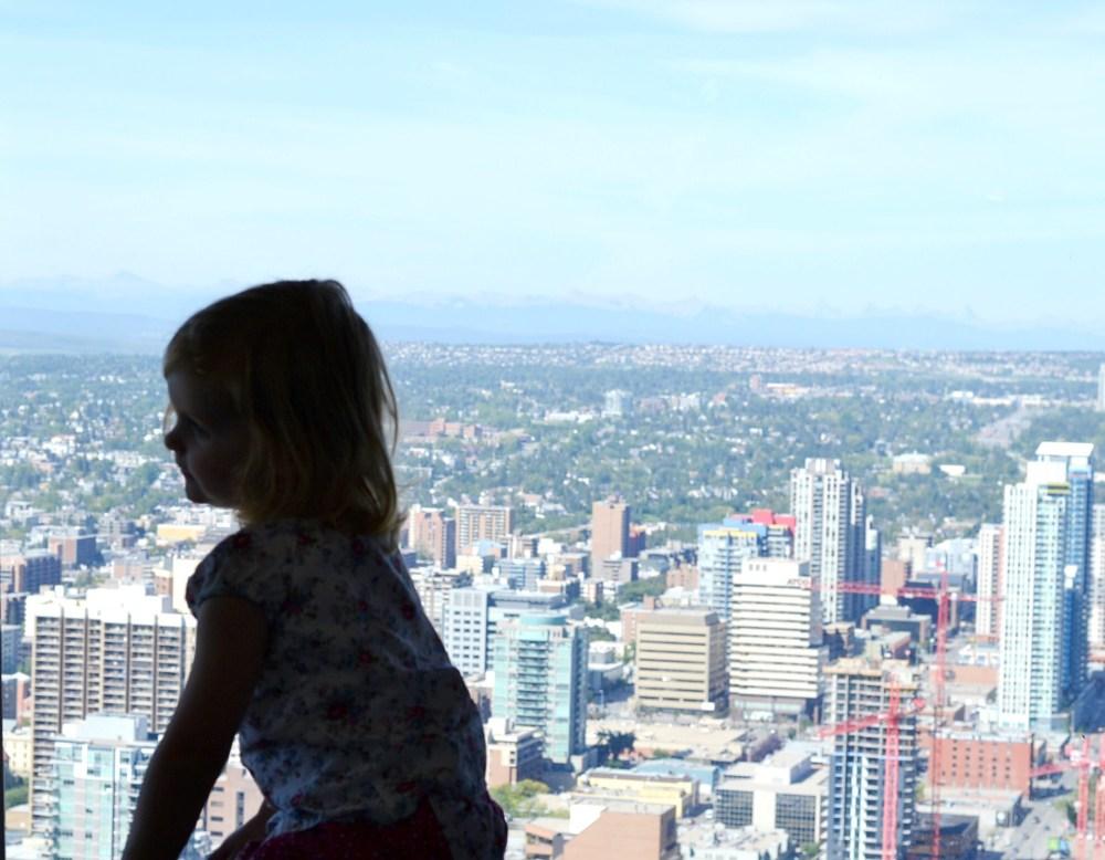 Calgary Tower 360 View
