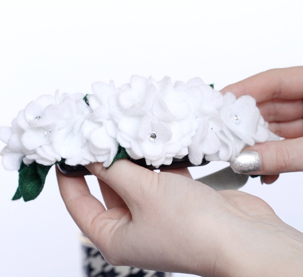 Flower Girl Flower Headband