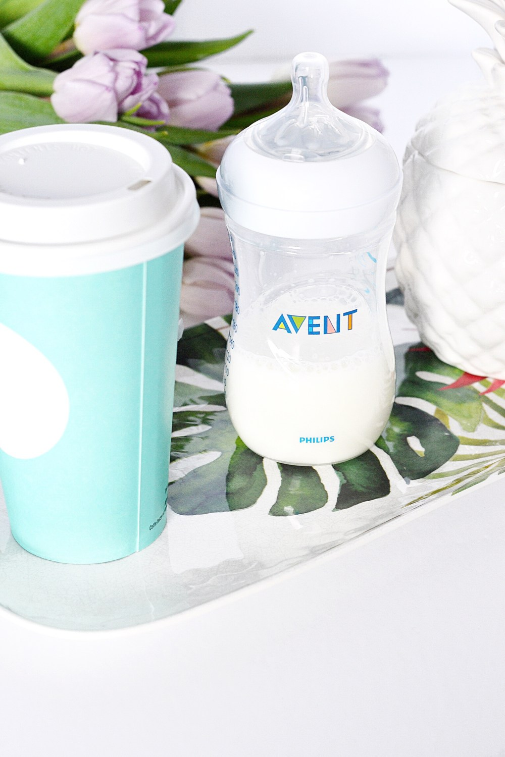 Philips Avent Bottle Natural Nipple 3 months