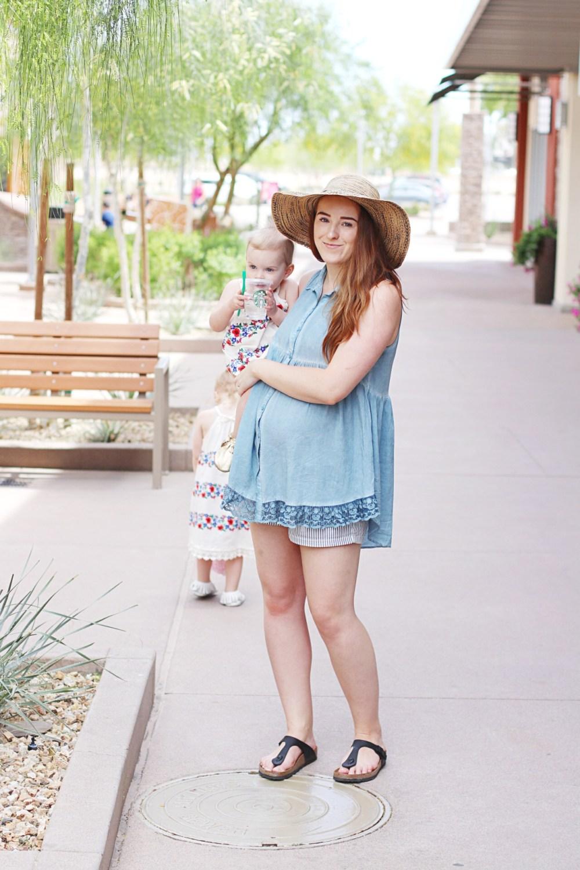 Edmonton pregnant style blogger canada