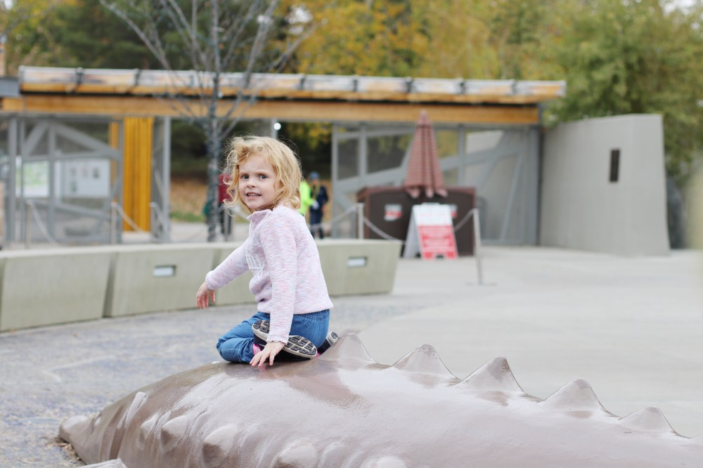 Edmonton Valley Zoo Lifestyle Blogger Activities For Toddlers In Edmonton
