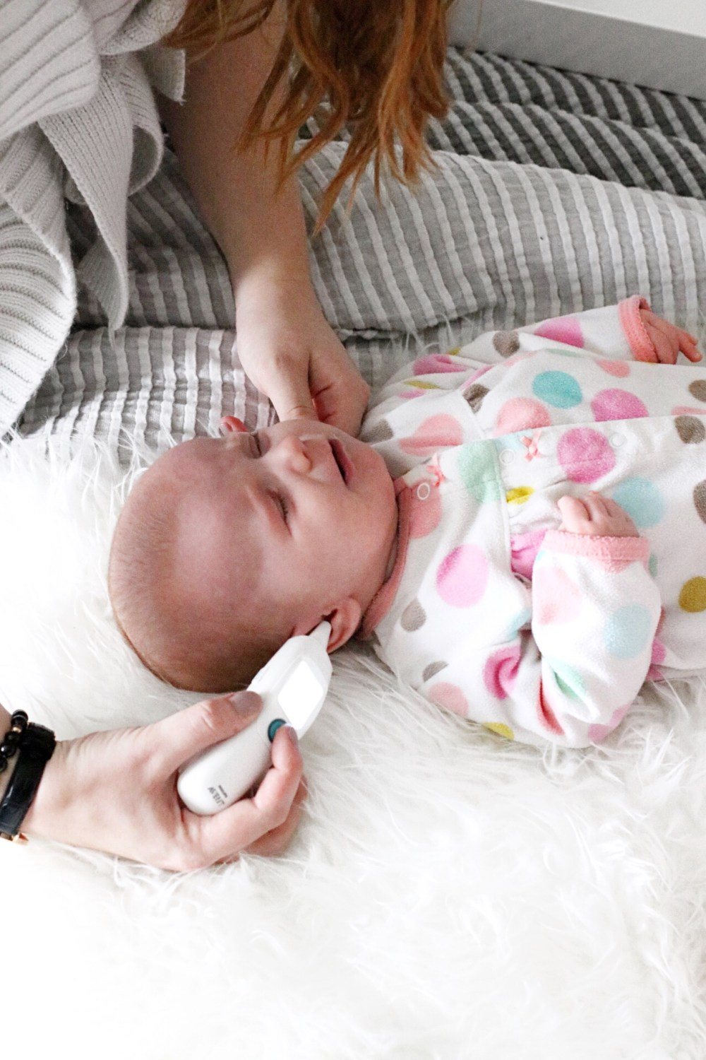 How To Take A Baby's Temperature Philips Avent Smart Ear Thermometer Review