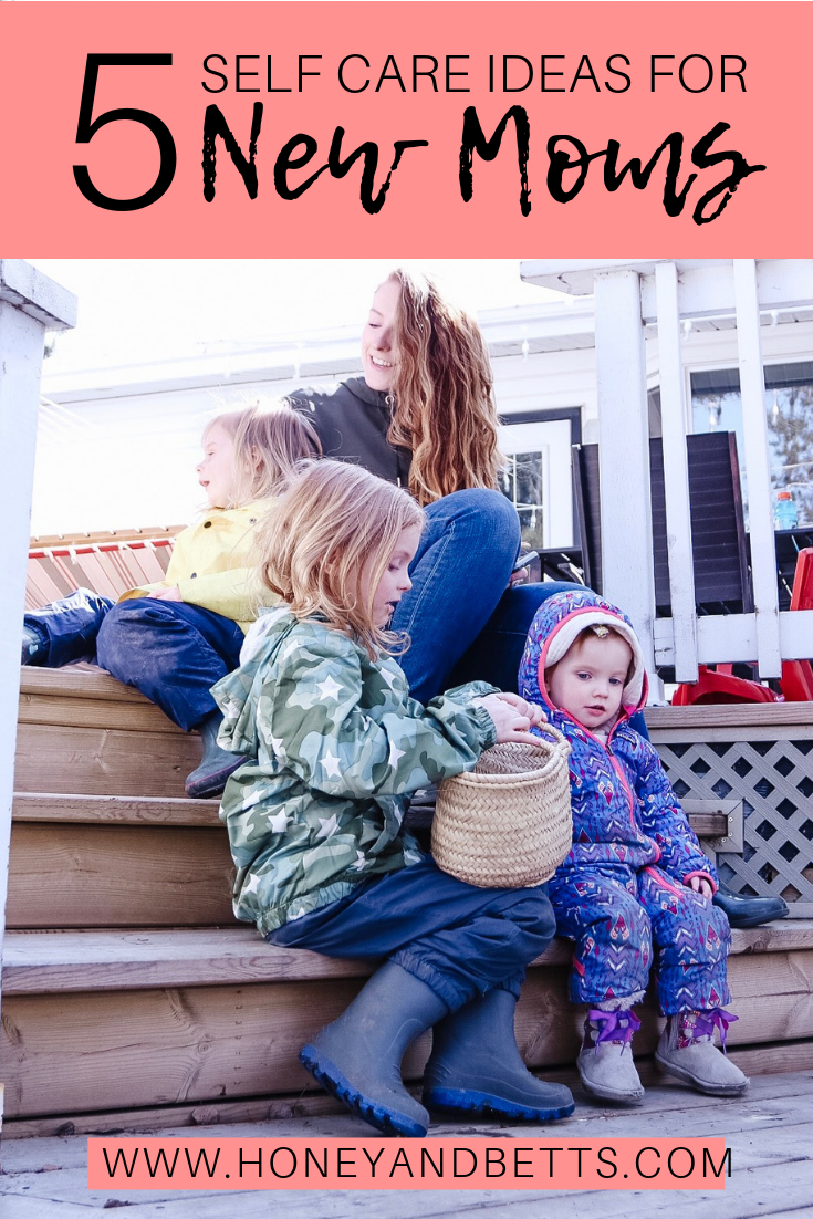 5 Ideas For Self Care For New Moms: Self Care Is Not One Size Fits