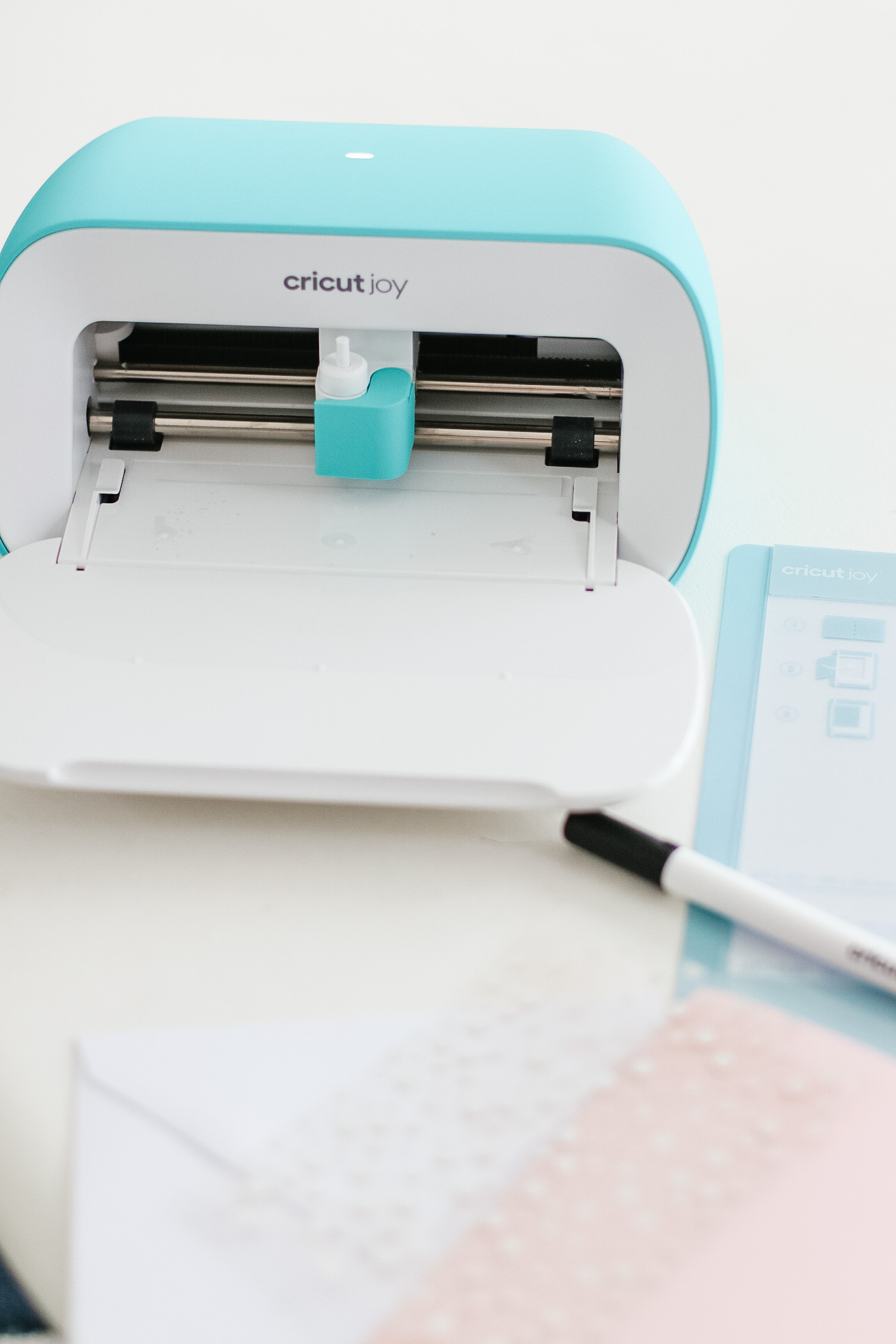 Cricut Joy is the perfect companion to quickly and easily personalize anything with one cut and one color, in 15 minutes or less. It is fun, functional, and simple to use.