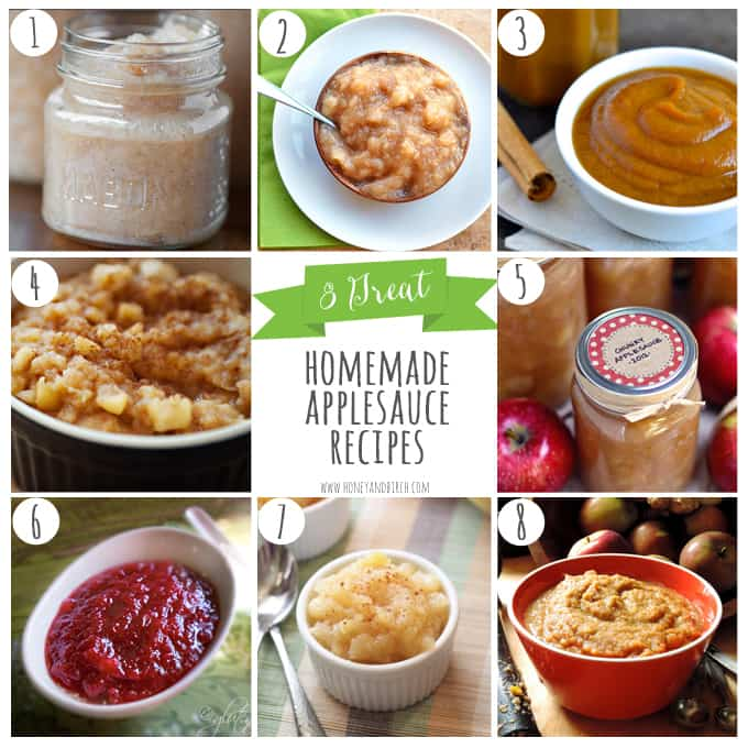 great homemade applesauce recipes honey and birch apples