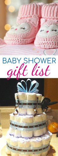 Baby Shower Gift List - 5 Creative and Unique Baby Shower ...