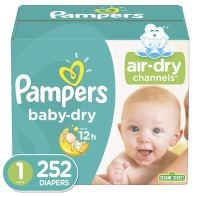 Amazon Subscribe and Save - Pampers Baby Dry discounted Diapers