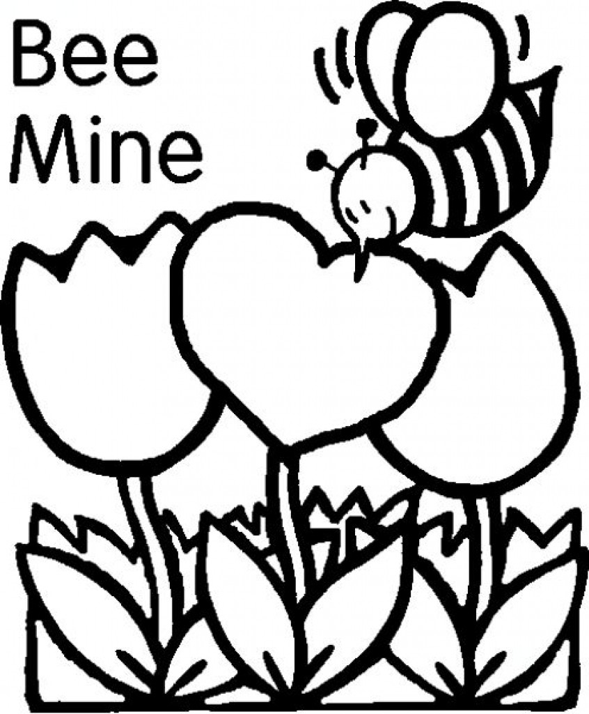 Free Printables: Valentines Day Coloring Pages, Valentine