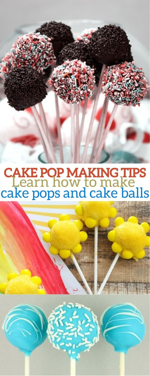 Cake Pop Tips - How To Make Cake Pops Brownie Pops and Cake Balls
