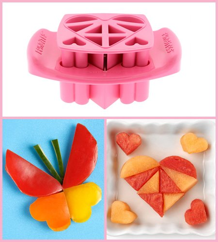 FunBites food cutters set - makes cute food shapes