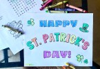 Free printable Saint Patrick's Day prints