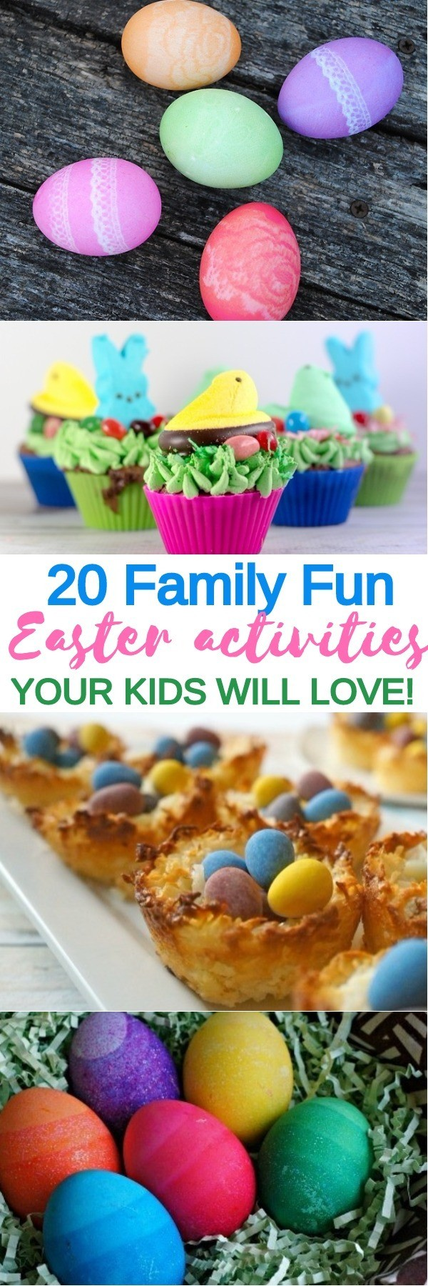 20 Easter Activities for Kids - Easter Treats, Egg Decorating Ideas, and Easter Printables   easter crafts for kids   what to do for easter   easter games and activities   honeyandlime.co