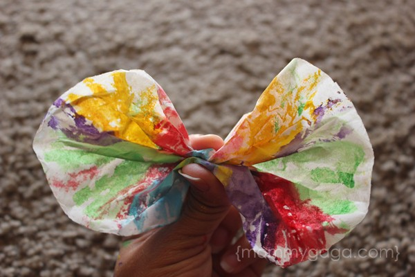 Making butterflies spring art kids craft