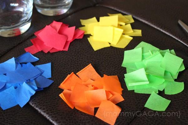 Candle Craft Tissue Paper Squares